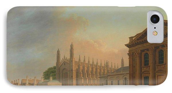 King's Parade - Cambridge IPhone Case