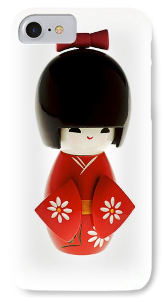 Kokeshi Doll Phone Case by Larry Dale Gordon - Printscapes
