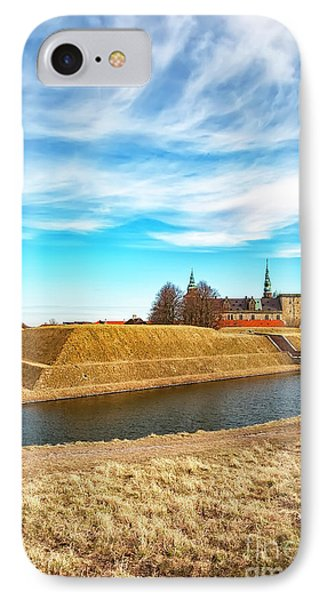 IPhone Case featuring the photograph Kronborg Castle In Helsingor by Antony McAulay