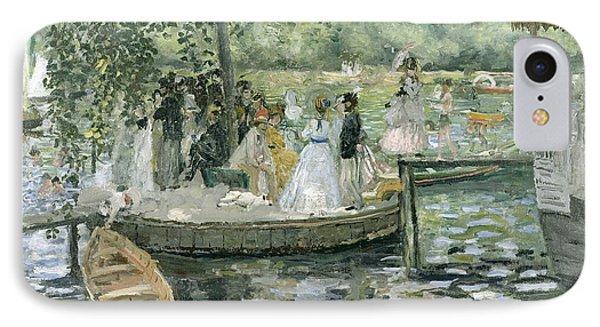 La Grenouillere IPhone Case by Pierre Auguste Renoir