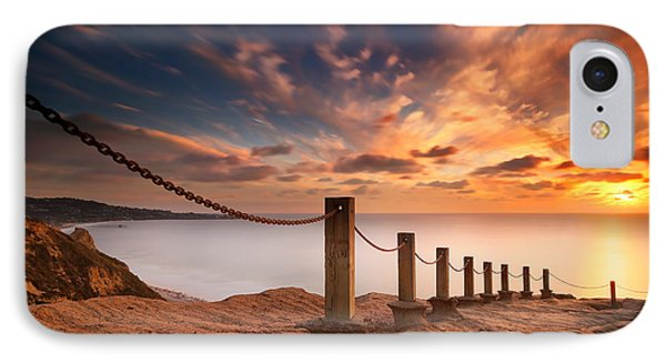 La Jolla Sunset 2 Phone Case by Larry Marshall
