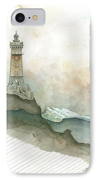 La Vieille Lighthouse IPhone Case by Juan Bosco