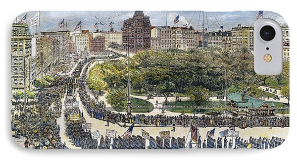 Labor Day Parade, 1882 Phone Case by Granger