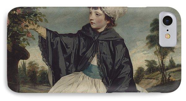 Lady Caroline Howard IPhone Case by Sir Joshua Reynolds