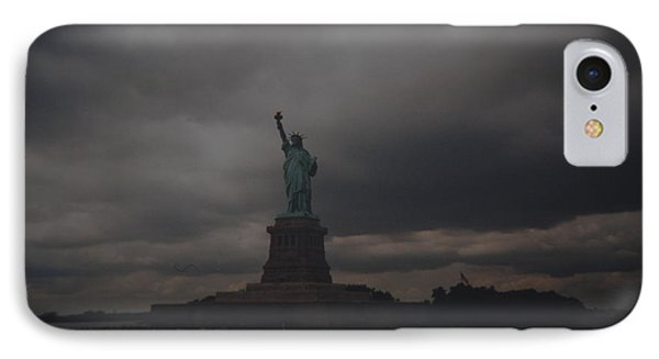 Lady Liberty Phone Case by Rob Hans