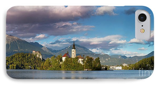 IPhone Case featuring the photograph Lake Bled Panoramic by Brian Jannsen