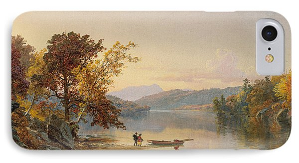 Lake George IPhone Case by Jasper Francis Cropsey