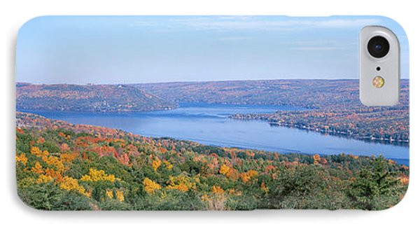 Lake Surrounded By Hills, Keuka Lake IPhone Case by Panoramic Images