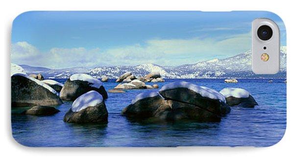 Lake Tahoe In Wintertime, Nevada IPhone Case