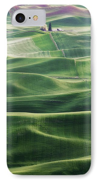 IPhone Case featuring the photograph Land Waves by Ryan Manuel
