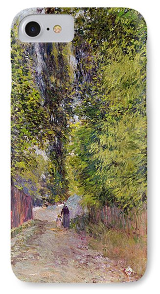 Landscape Near Louveciennes Phone Case by Alfred Sisley