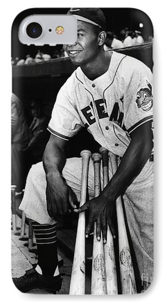 Larry Doby (1923-2003) Phone Case by Granger