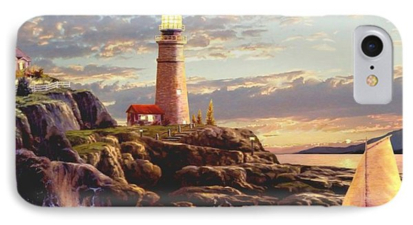 Last Light 2 IPhone Case by Ron Chambers