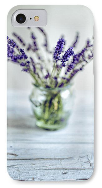 Lavender Still Life IPhone Case by Nailia Schwarz