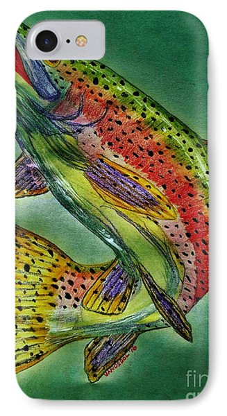 Leaping Trout IPhone Case