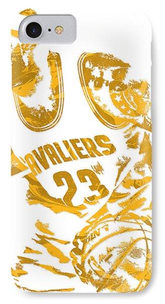 Lebron James Cleveland Cavaliers Pixel Art 7 IPhone Case