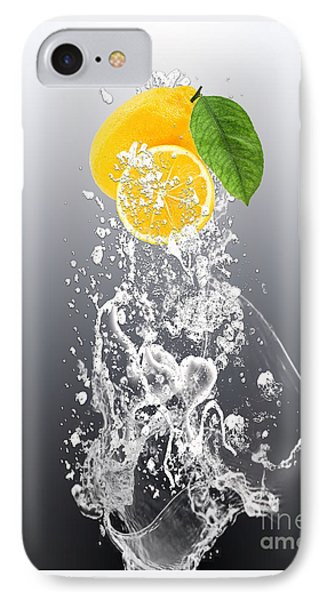 Lemon Splast IPhone Case by Marvin Blaine
