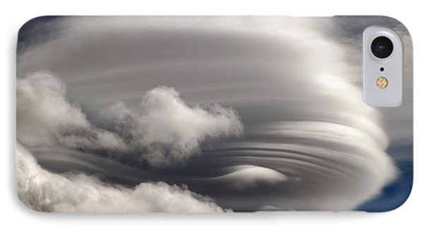 Lenticular Clouds Phone Case by Donna Kennedy