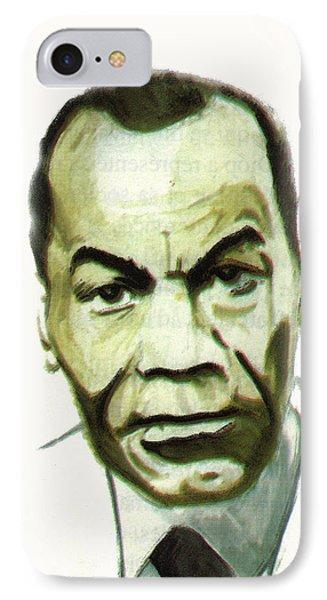 Leon Gontran Damas IPhone Case by Emmanuel Baliyanga