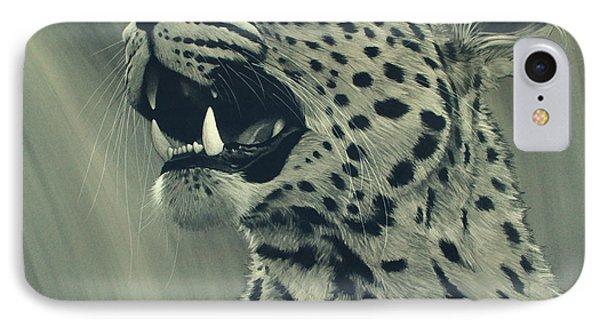 Leopard Portrait Phone Case by Aaron Blaise