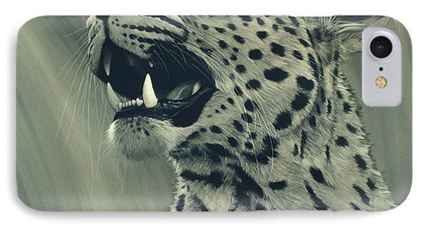 Leopard Portrait Phone Case by Aaron Blaise