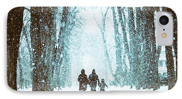 Let It Snow Phone Case by Marji Lang