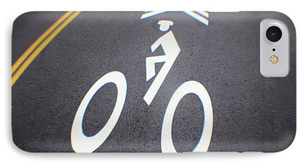 Life In The Bike Lane IPhone Case