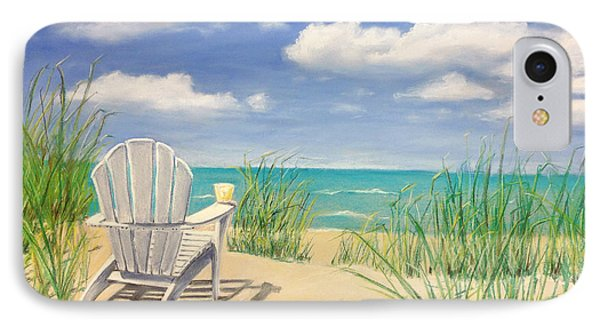Life Is A Beach IPhone Case by Diane Diederich