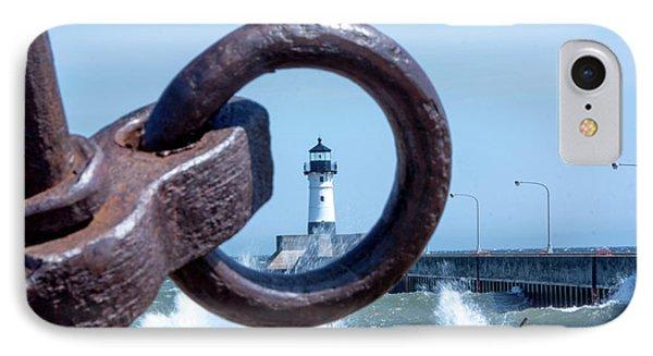 Lighthouse Thru The Hole IPhone Case