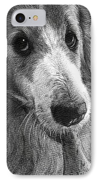 Lilly IPhone Case by Faithful Faces Pet Portraits