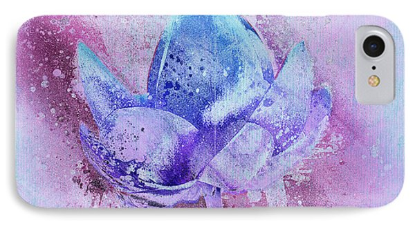 IPhone Case featuring the digital art Lily My Lovely - S114sqc75v2 by Variance Collections