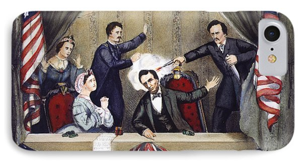 Lincoln Assassination Phone Case by Granger