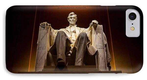Lincoln Memorial At Night - Washington D.c. IPhone 7 Case