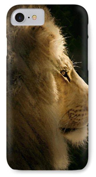 Lion Of Judah II Phone Case by Sharon Foster