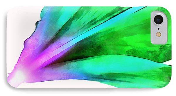 Liquid Lily IPhone Case by Krissy Katsimbras