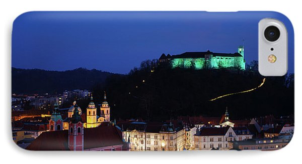 Ljubljana Castle IPhone Case