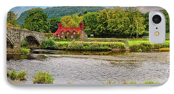 Llanrwst Bridge And Tea Room IPhone Case
