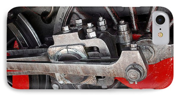 Locomotive Wheel IPhone Case