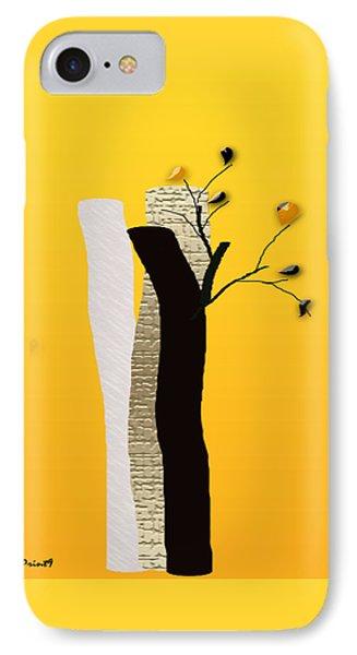 Log Flowers IPhone Case