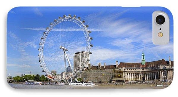 London Eye iPhone 7 Case - London Eye by Joana Kruse