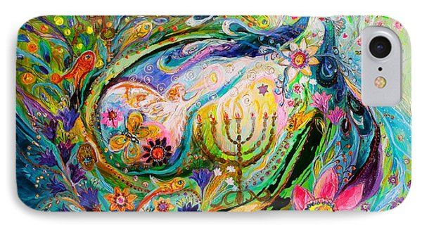 Longing For Chagall IPhone Case by Elena Kotliarker