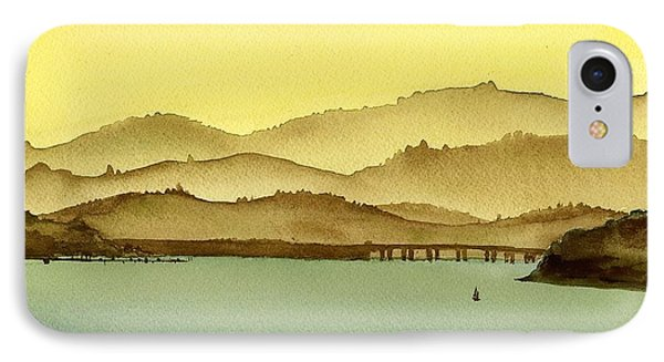 Looking North From The East IPhone Case by Janine Hunn