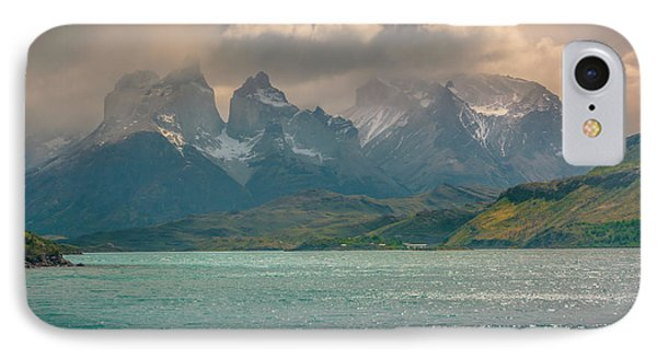 IPhone Case featuring the photograph Los Cuernos  by Andrew Matwijec