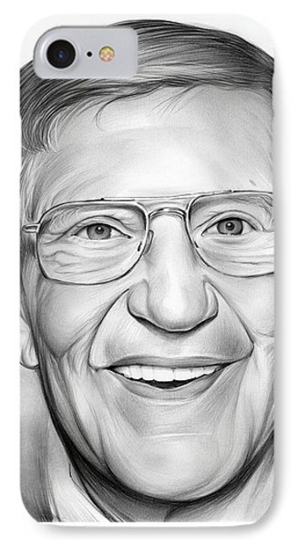Lou Holtz IPhone 7 Case by Greg Joens