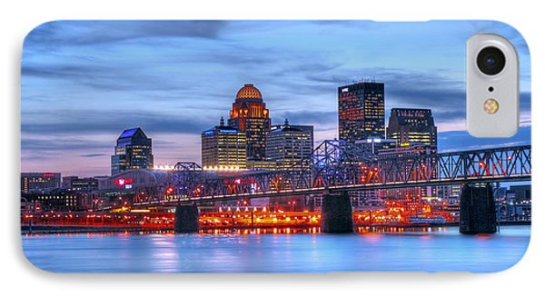 Louisville Kentucky IPhone Case by Darren Fisher