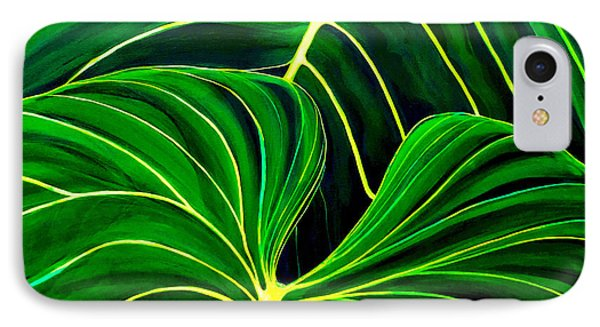 Lovely Greens IPhone Case by Debbie Chamberlin