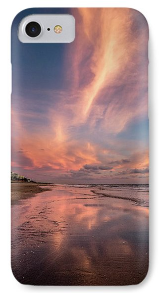 IPhone Case featuring the photograph Low Tide Mirror by Debra and Dave Vanderlaan
