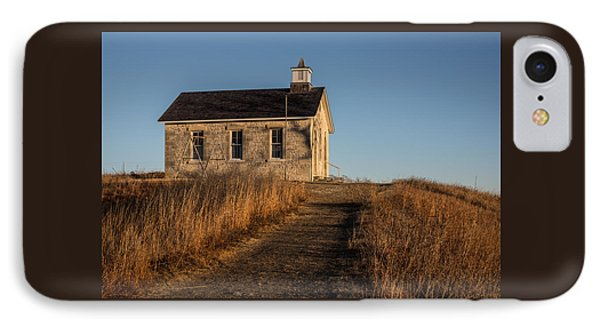 Lower Fox Creek School IPhone Case by Don Spenner