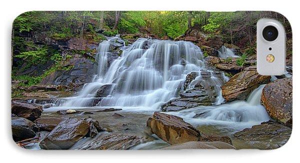 Lower Kaaterskill Falls IPhone Case by Rick Berk