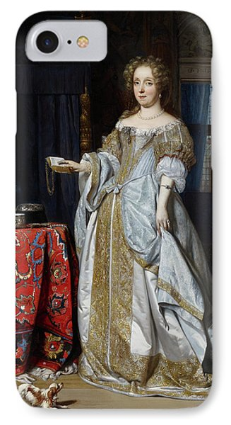 Lucia Wijbrants IPhone Case by Gabriel Metsu
